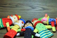 Куклы пальца Стоковое Изображение