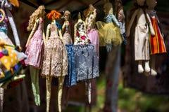 куклы ручной работы Стоковое Изображение RF