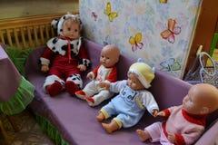 куклы старые Стоковое Изображение