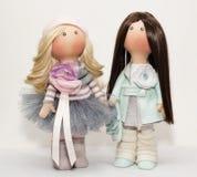 Куклы ткани handmade Стоковые Фото