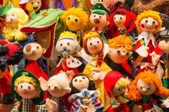 Куклы шерстей стоковая фотография rf