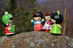 куклы японские Стоковая Фотография