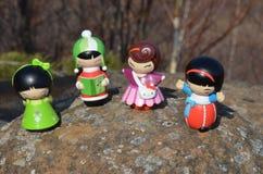 куклы японские Стоковые Фотографии RF