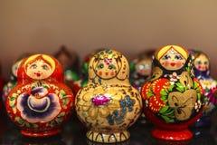 Куклы Matryoshka, Россия Стоковая Фотография RF