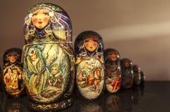 Куклы Matryoshka, Россия Стоковое Изображение