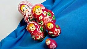 Куклы Matryoshka Стоковое Изображение