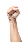 Кулачок обхваченный мужчиной стоковые изображения rf