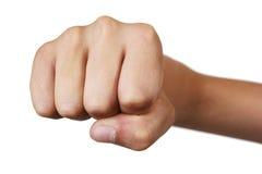 кулачок s мальчика Стоковая Фотография