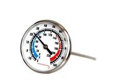 кулинарный термометр Стоковое фото RF