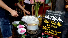 Культура еды улицы Вьетнама стоковые изображения