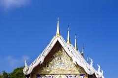 Культура Таиланда виска черепицы стоковая фотография rf