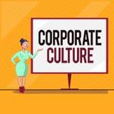 Культура текста почерка корпоративная Верования и идеи смысла концепции что компания имеет, который делят значения бесплатная иллюстрация