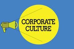 Культура текста сочинительства слова корпоративная Концепция дела для верований и идей что компания имеет, который делят значения бесплатная иллюстрация