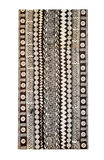 Культура Фиджи традиционная - ткань Tapa Стоковое Фото