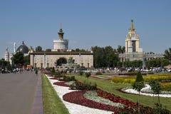 Культура Pavillion - Узбекистан 66 на VDNKh стоковые фото