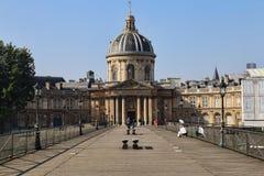 Культурный центр Institut de France в Париже, Франции стоковые изображения rf