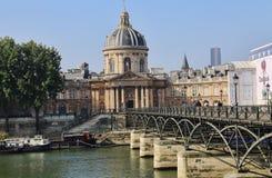 Культурный центр Institut de France в Париже, Франции стоковое изображение