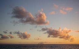 Кумулюс, Saba Стоковые Изображения