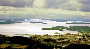 Куопио, Финляндия Стоковое фото RF
