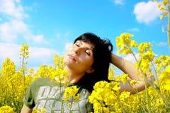 Купать в солнце Стоковые Изображения RF