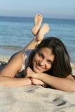 купать красотку Стоковая Фотография RF