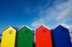 купать основное цвета коробок Стоковые Фото