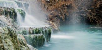 купать термальную воду Стоковое Изображение RF