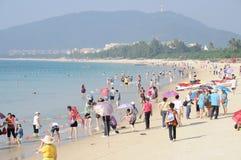 купать yalong места пляжа залива Стоковое Фото