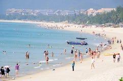 купать yalong места пляжа залива Стоковая Фотография RF
