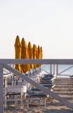 Купающ установку на зоре Стоковое фото RF