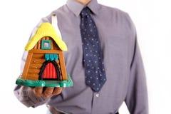 Купите дом праздника Стоковое Изображение