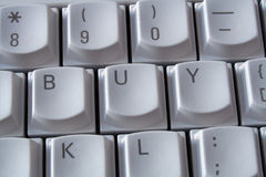 купите клавиатуру Стоковые Фотографии RF