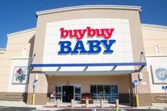 Купите младенцу покупки Стоковая Фотография