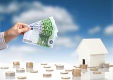 Купите принципиальную схему нового дома стоковые изображения rf