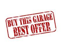 Купите этот гараж иллюстрация вектора