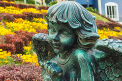 Купидон в саде Стоковая Фотография RF