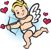 Купидон младенца Иллюстрация штока