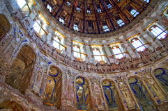 куполок церков внутри voskresensky Стоковая Фотография