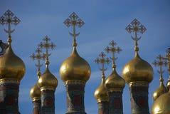 куполы крестов Стоковая Фотография