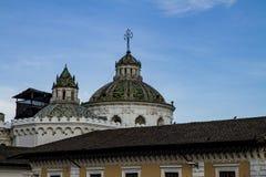 Куполы Ла Compania de Иисуса стоковые изображения rf