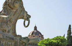 Куполы Рим стоковое фото rf