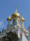 куполы церков Стоковое Изображение