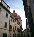 Купол в Пистойя Тоскане Италии стоковые изображения rf