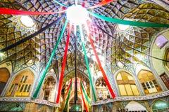 Купол в старом базаре Kashan - Ирана Стоковое Изображение RF