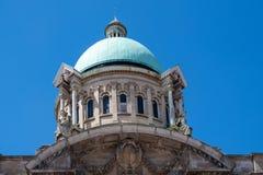 Купол здание муниципалитета Йоркшира корпуса Стоковое Изображение RF