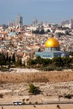 Купол Иерусалима утеса Израиля стоковая фотография