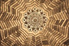 Купол мечети, орнаменты от Бухара Стоковая Фотография