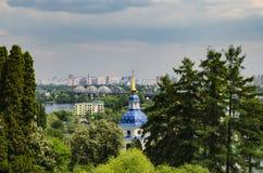 Купол православной церков церков, Киева Стоковая Фотография RF