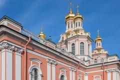 Купол святого перекрестного собора Стоковые Фото