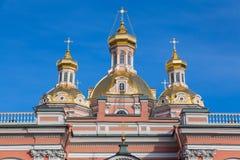 Купол святого перекрестного собора Стоковые Изображения RF